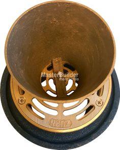 Zurn ZN211-5BE-P Non-Membrane Funnel Floor Drain w/ Medium Duty Round Nickel…
