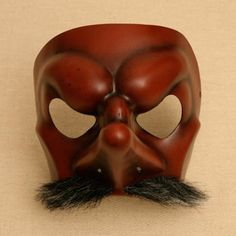 Strangeface - Masks - Commedia, Neutral, Lecoq style, Character. - Commedia Mask Gallery