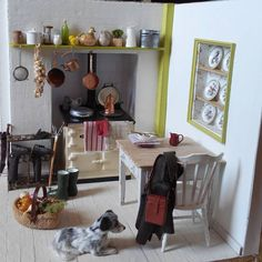 Cute kitchen by Le Mini Di Claudia