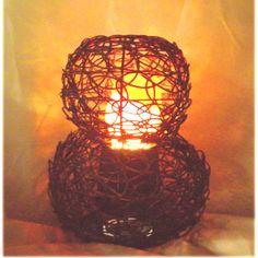 Luxa Flamelighting Rattan Gourd Table Lamp