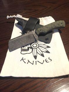 Nicholl Knives edc Cleaver... One sweet knife!