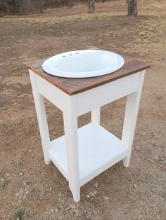 Reclaimed Wood And Pine Bathroom Vanity