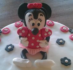 Minnie Mouse of fondant