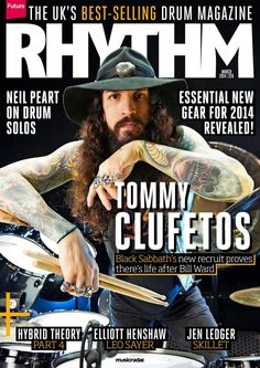 #Rhythm  226. Black Sabbath's new recruit proves there's life after Bill Ward.