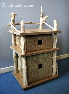 le bois flott on pinterest driftwood lamp no closet and beach cottages. Black Bedroom Furniture Sets. Home Design Ideas