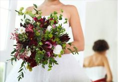 Wedding bouquet for bride stock photo. Image of florist - 41993196 Floral Wedding, Wedding Bouquets, Wedding Flowers, Wedding Dresses, Succulent Bouquet, Image Photography, Retro Fashion, One Shoulder Wedding Dress, Stock Photos