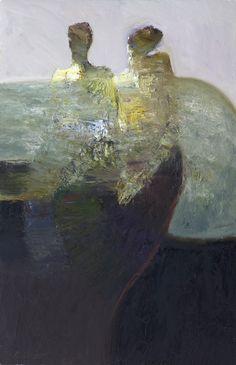 "Saatchi Online Artist: Dan McCaw; Oil Painting ""Collaboration"""