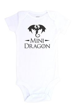 """Mini Dragon"" Game of Thrones Baby Clothes"