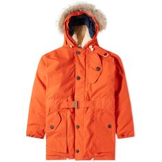 Nigel Cabourn Antarctic Parka (Vintage Orange)