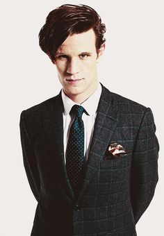 Suits are sexy.  Holy Moley, are they ever ;) ~Matt Smith~