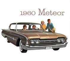 1960 Meteor. Sold in Canada