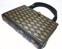 Book Purse Three Musketeers Handbag Book Bag by retrograndma