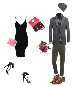 """Valentine's Outfits"" by souvenir1992 on Polyvore featuring Janis, Harry London, Dsquared2, Jimmy Choo, Outdoor Research and Bruno Magli"