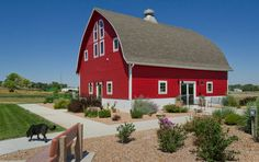 One of Broken Bow's many gems is the Sandhills Journey Scenic Byways Interpretive Center. The big red barn houses exhibits celebrating the beauty of the Sandhills and of the scenic byway that passes right through the city.