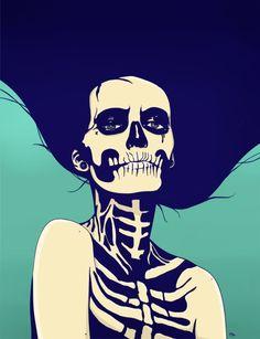 Día de las Muertas Art Print by Hypathie Aswang | Society6