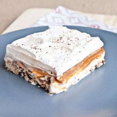 The Sweet Treats and More Pumpkin Lust Cake is Decadently Delicious #food trendhunter.com