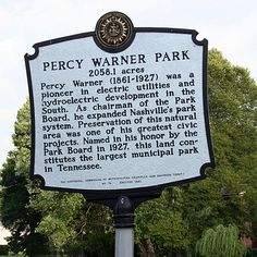 A Virtual Auto Tour of Percy Warner Park In Nashville (photos)
