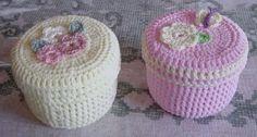 Ideas para compartir: ¿Cómo endurecer cajitas en crochet?