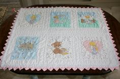 Vintage Handmade Precious Moments Baby by AstridsPastTimes on Etsy
