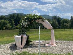 Arbors, Beams, Burlap, Hessian Fabric, Outdoor Pavilion, Vines, Pergolas, Jute, Gazebo