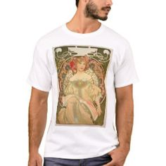 Mucha T-Shirt - love gifts cyo personalize diy Closet Staples, Retro Vintage, Fitness Models, Best Gifts, Shop Now, Casual, Cotton, Mens Tops, T Shirt