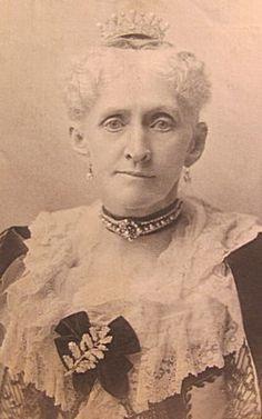 "Mrs Richard T. Wilson (Miss Melissa Johnston) the mother of Miss Grace Wilson who wed Mr. Cornelius Vanderbilt, Jr. in 1873 & Miss Mary ""May"" Wilson who wed Mr. Ogden Goelet."