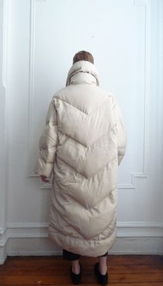 Bill Blass Puffer Coat / Duvet Coat / Down Coat by TripleGemini