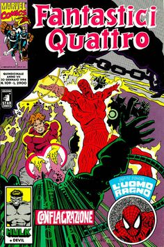 Cover for Fantastici Quattro (Edizioni Star Comics, 1988 series) #109