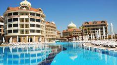 Hotel Kirman Belazur Resort, Belek, Antalya, Turcia& Spa Antalya, Resort Spa, Taj Mahal, Mansions, House Styles, Building, Travel, Home Decor, Greece
