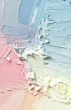 Розовый, синий, желтый, сочетание цветов, идея, краски