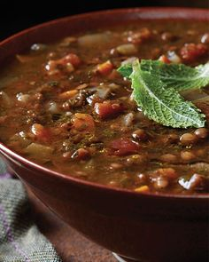Persian Lentil Soup - http://www.sweetpaulmag.com/food/persian-lentil-soup #sweetpaul