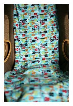 DIY carseat cooler - keep carseats cool during the hot summer months!