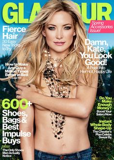 Our April 2013 cover star Kate Hudson, with some killer Chanel necklaces (hey, it's the Accessories Issue!)