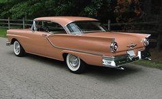 Coral-colored 1957 Ford Fairlane http://www.sfbayhomes.com #sfbayhomes.com