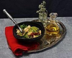 Cytrynowe jaglanotto ze szparagami i groszkiem. Obiad w 15 minut!