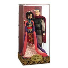 Mulan and Li Shang Doll Set - Disney Fairytale Designer Collection, Honor Bound, Item No 6003040901075P, $129.95, Limited Editon of 6000
