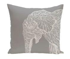 Animal Magnatism Throw Pillow