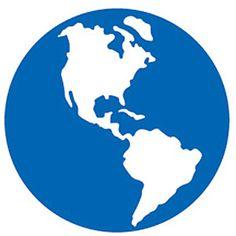 Ellison SureCut Die - Globe #2 - Large (#22615-LG)