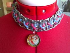 Cute soda tabs necklace.