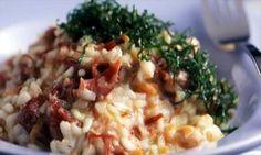 Receita de Risoto de carne-seca e abóbora - Arroz e risoto - Dificuldade: Médio - Calorias: 809 por porção