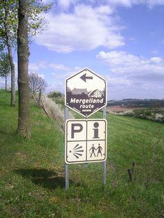 Mergellandroute, Zuid-Limburg.