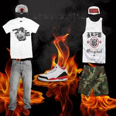 What To Wear With The Air Jordan 3 Fire Red