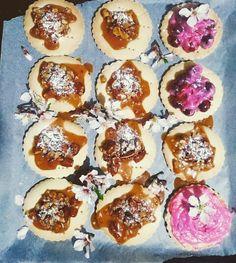 Karamelli bademli kurabiye