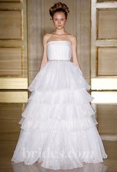 Brides.com: Jessica Biel's Wedding Dress: Get the Look. Douglas Hannant. Gown by Douglas Hannant  Browse more Douglas Hannant wedding dresses.