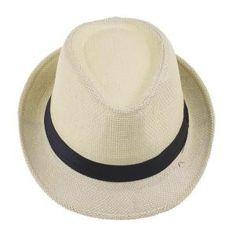 CHAPEAU Vogue été Chapeau de Paille Panama Fedora Hat Homm Gorras 66f5f784bb7