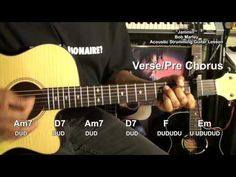 JAMMIN' Bob Marley & The Wailers How To Play On Guitar Lesson EricBlackm...
