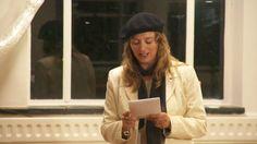 Pauline Meijwaard maakte een gedicht op Inspiratiepodium #27 van het Inspiratiehuis Arnhem, 17 september 2015. © 2015, Flinq Creative Video
