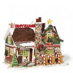 "Department 56: Products - ""The Gingerbread House"" - View Lighted Buildings"