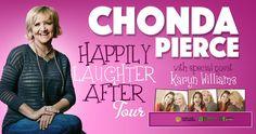 Share to Win Chonda Pierce VIP Tickets!