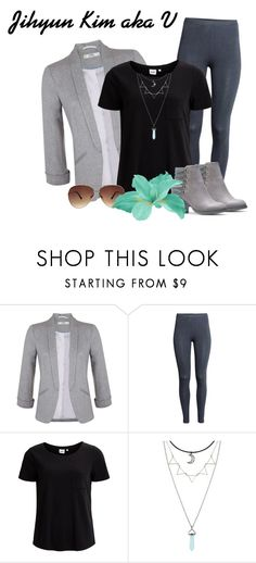 """""""Jihyun Kim (V) Inspired Outfit"""" by raven-writer on Polyvore featuring Miss Selfridge, H&M, Object Collectors Item, Hot Topic and Ashley Stewart"""